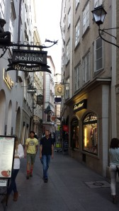 Salzburg. Very nice, and quite pricy