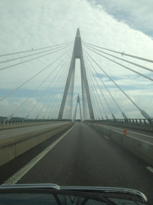 Bridge from Sweeden to Denmark. Sweeden had a pretty good day.